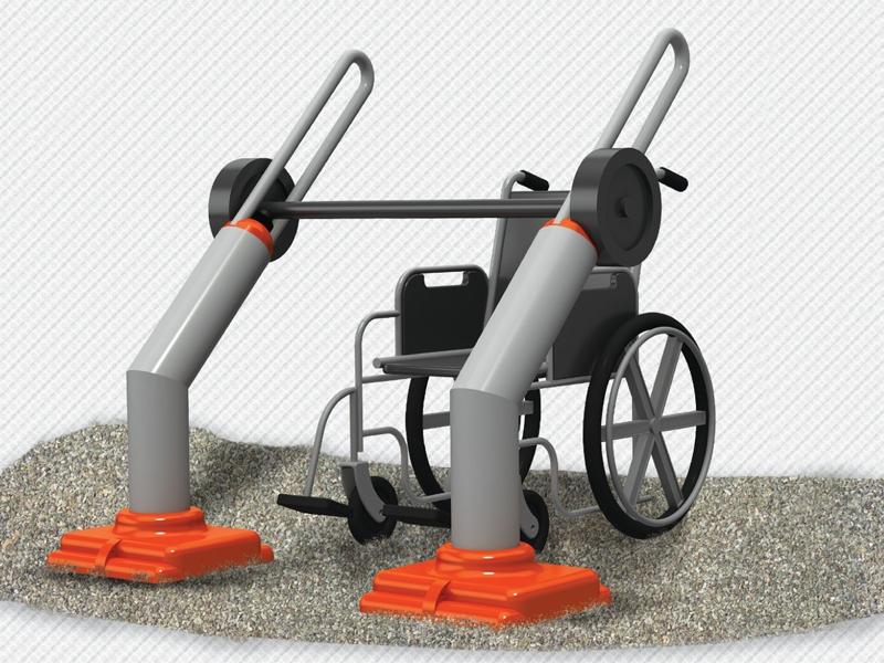 Alan spor aletleri açık alan fitness aletleri dış mekan fitness